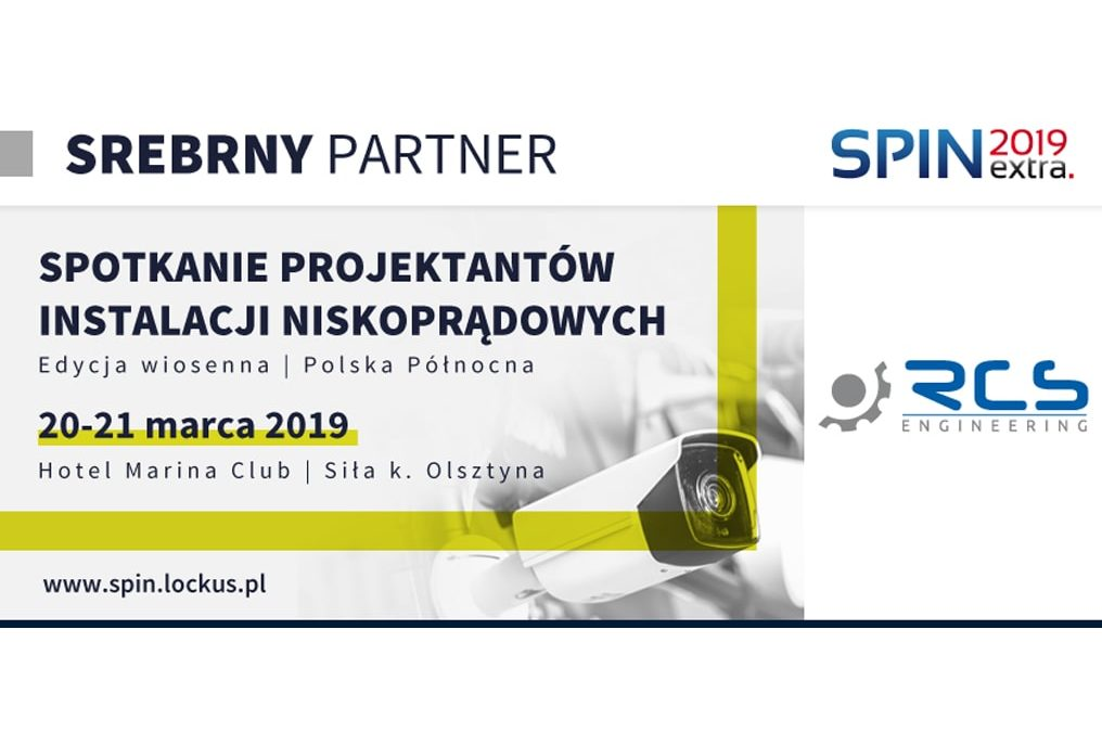 RCS Enginnering is the silver partner of the SPIN EXTRA 2019 conference