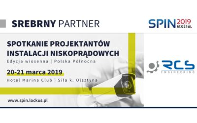 RCS Engineering srebrnym partnerem konferencji SPIN EXTRA 2019