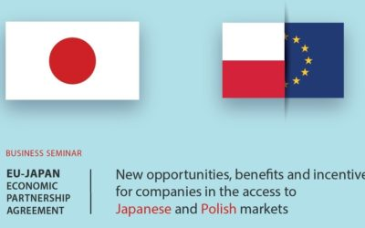 Business seminar at the Polish Chamber of Commerce in Warsaw.